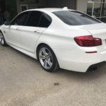 Back White Car Window Tint Job